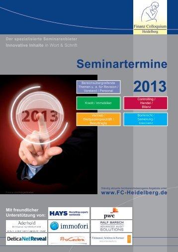 2012 - Finanz Colloquium Heidelberg