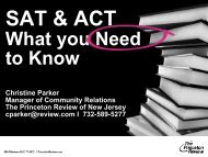 SAT & ACT - What You Need To Know
