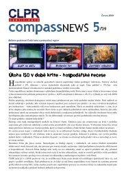 CompassNews 5/09 - Český lodní a průmyslový registr, s.r.o.