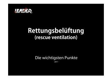 Rettungsbelüftung - Leader GmbH