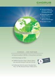 CHORUS Solarfonds