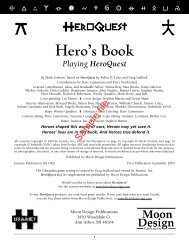 Hero's Book Playing HeroQuest - RPGNow.com