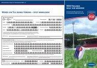 Werde ein Teil deines Vereins – Jetzt anmelden ... - 1. FC Heidenheim