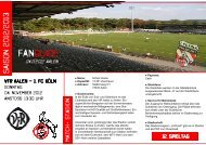 FANGUIDE - Fan-Projekt des 1. FC Köln