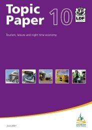Tourism, leisure and night time economy - Wiltshire Council
