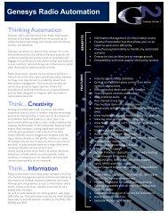 Download the brochure - Broadcast Bionics