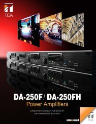 DA-250F / DA-250FH - Scandec Systemer AS