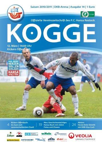 Kickers - FC Hansa Rostock