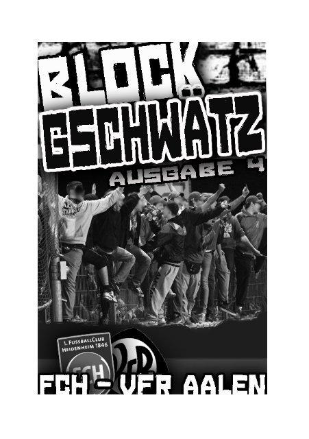 Ausgabe 04 – VfR Aalen - Fanatico Boys