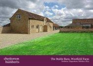The Stable Barn, Westfield Farm - Farming