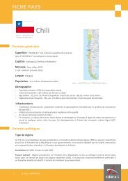 fiche Chili - ILE-DE-FRANCE INTERNATIONAL
