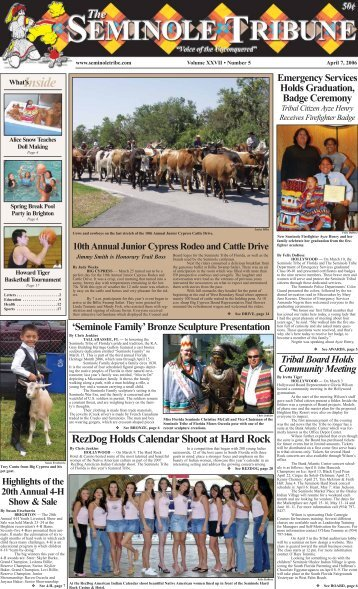 Inside - Seminole Tribe of Florida