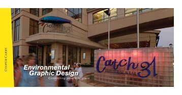 Environmental Graphic Design Services Brochure - Cooper Carry