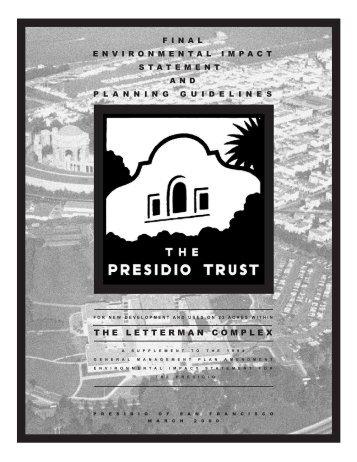 THE LETTERMAN COMPLEX - Presidio Trust