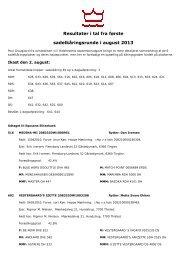 Klik og gå til liste over katalognumre fordelt i kåringsgrader