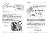 Heft 4 für das Schuljahr 2011 / 2012 - HSG