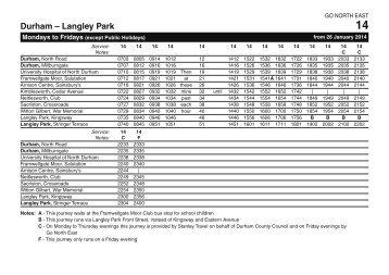 14 - Durham - Langley Park