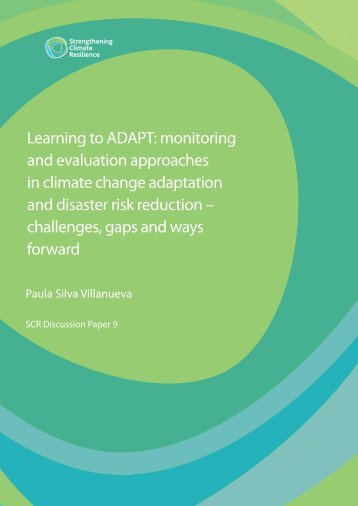 Learning to ADAPT - Climate Adaptation Knowledge Exchange