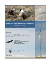 FINAL RNP grouse and wind 4-14-10 - WEST, Inc.