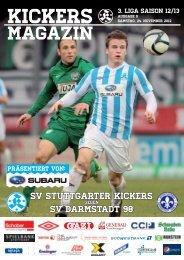 09 Kickers-Magazin Darmstadt (pdf mit 15 MB - SV Stuttgarter Kickers