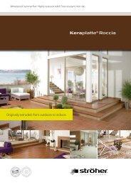 Keraplatte® Roccia