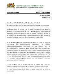 Neue Norm DIN 51605 für Rapsölkraftstoff veröffentlicht - BDOel