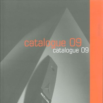 Download General Catalogue 2009