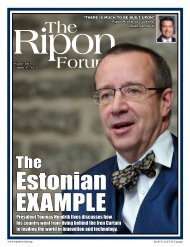 President Toomas Hendrik Ilves discusses how his country went from ...