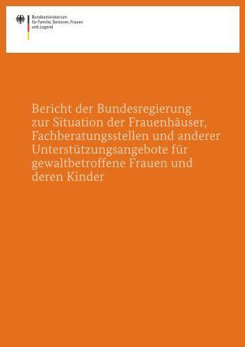 Bericht der Bundesregierung 2012 - netzwerkB