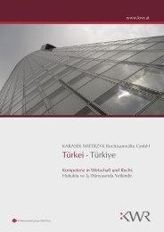 Türkei - Türkiye - KWR
