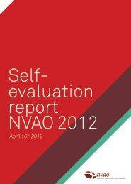 April 16th 2012 - NVAO