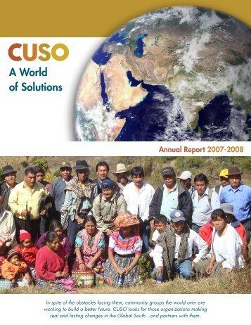 A World of Solutions - Cuso International