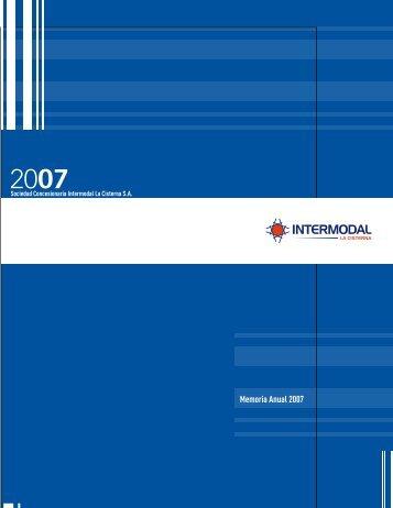 memoria_2007 - Intermodal La Cisterna