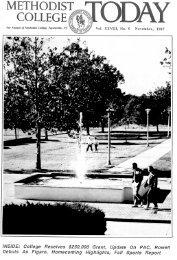 1987, v28, n5 - Methodist University