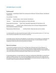 ARLIS/MOQ Rapport annuel 2003 Comité exécutif Co ... - arlis/na moq