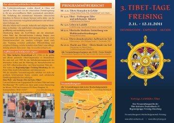 3. tibet-tage freising programmübersicht - TID Regionalgruppe ...