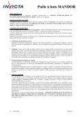 Poêle à bois MANDOR - Page 6