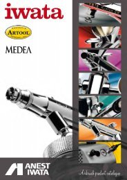 Airbrush product catalogue - Iwata Airbrush