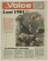 Archbishop's message - E-Research