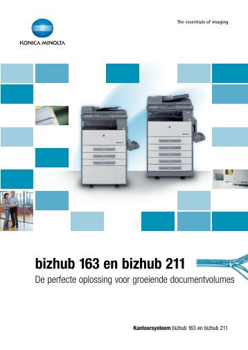 bizhub 211/163 (Pdf)