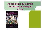 Bilan de la 10e Bourse aux Emplois - (CCI) de Narbonne, Lézignan ...