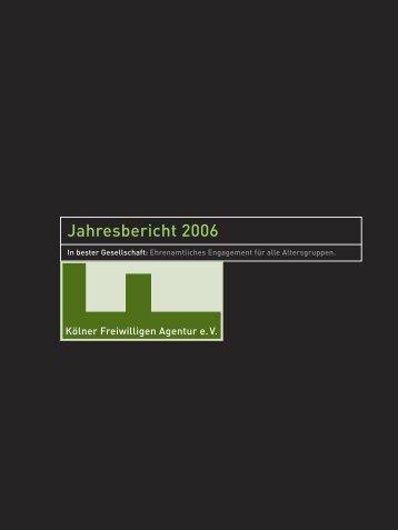 Download - Kölner Freiwilligen Agentur