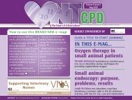 oxygeN TherAPy - VBD