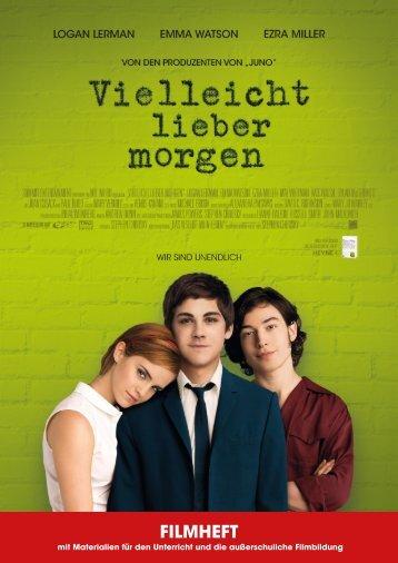 FILMHEFT - Vielleicht Lieber Morgen