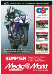 ASR Sport Ausgabe April 2011 - Allgäu Sport Report