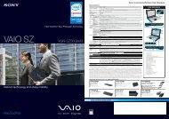 VAIO SZ - Sony
