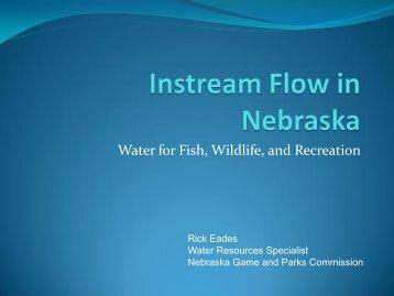 Instream Flow in Nebraska - Water Resources Board