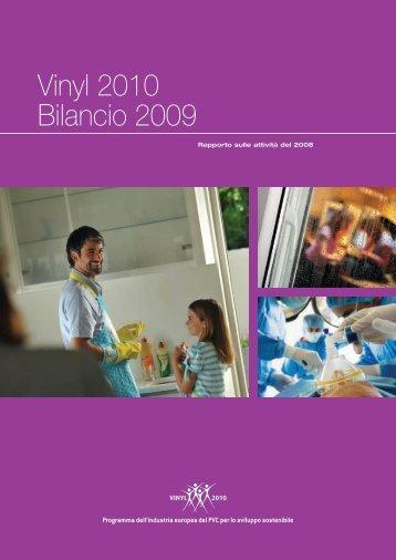 Vinyl 2010 Bilancio 2009 - VinylPlus
