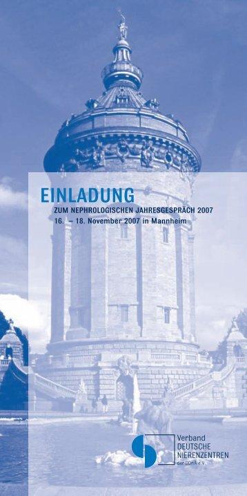 Veranstaltungsprogramm (PDF) - Akademie Niere