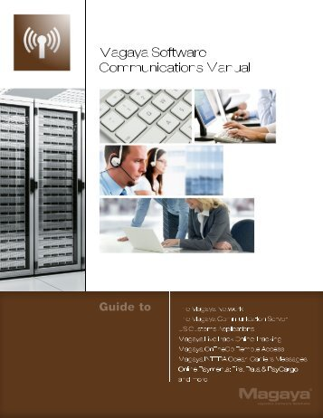 Magaya Software Communications Manual
